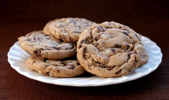 Andes Mint Chip Cookies
